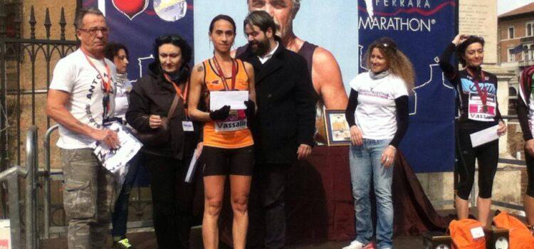 Maratona di Ferrara: Lucia Avolio sul podio!