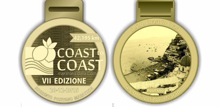 Ecco le medaglie della Coast to Coast 2015!