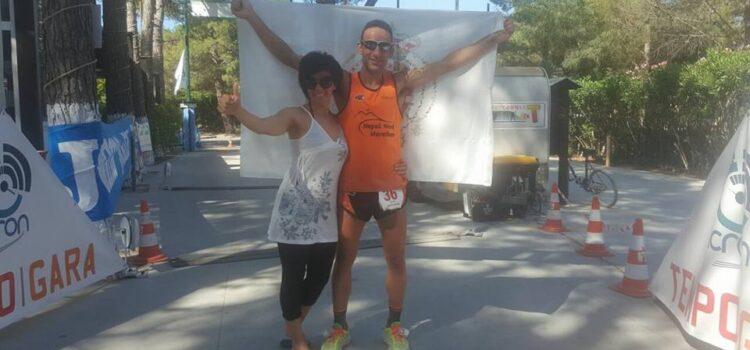 Matteo nocera campione italiano 2017 delle 100 miglia