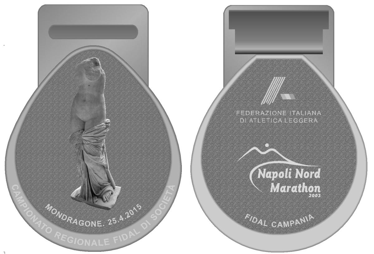 Medaglia dell'edizione 2015