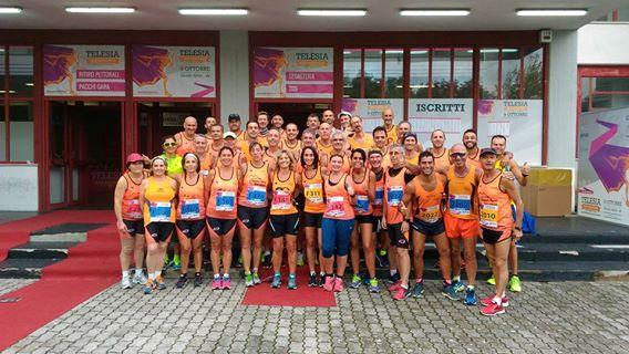 Telese Half Marathon: grande successo Orange