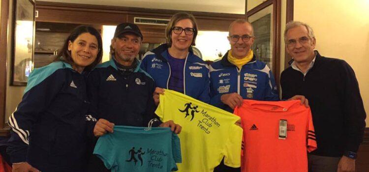 Gemellaggio tra la Napoli Nord Marathon e la Marathon Club Trento
